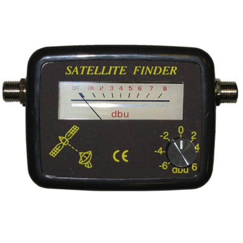 Satellite TV Finder Meter