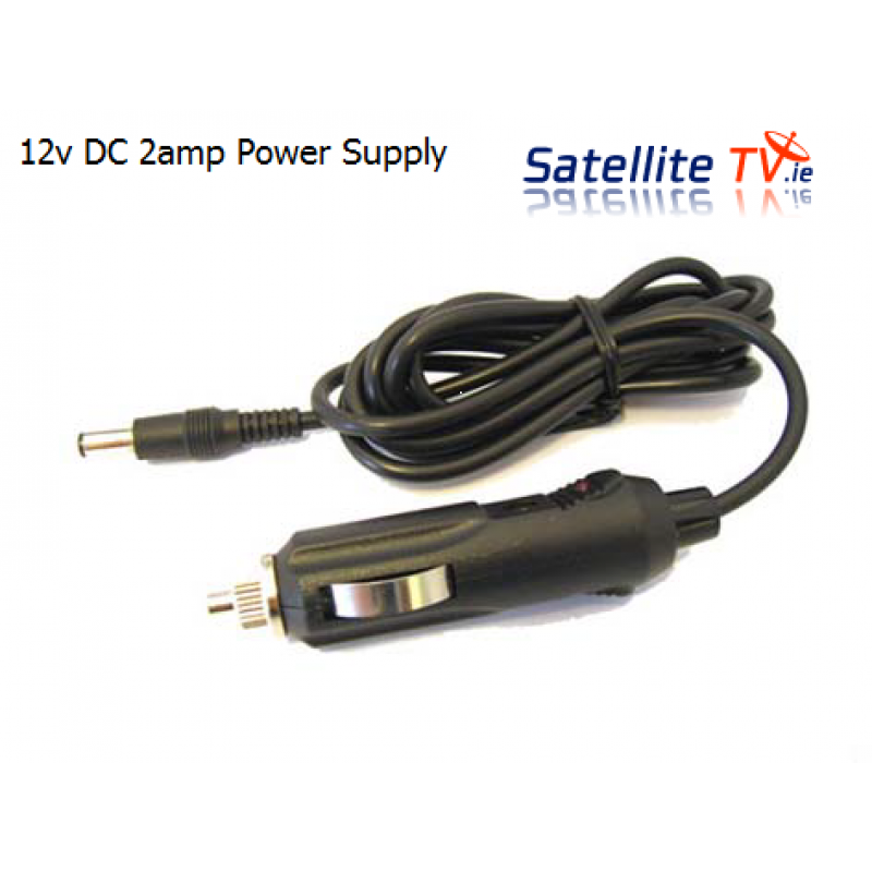 Car / Caravan / Motorhome 12v DC Power Supply Lead