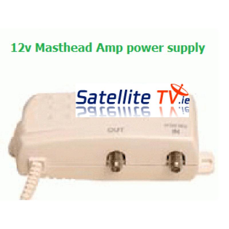 Masthead Amplifier Power Supply - 12v 100mA