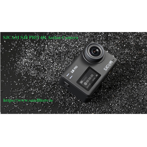 SJCAM SJ8 Plus Action 4K Camera - Big Box