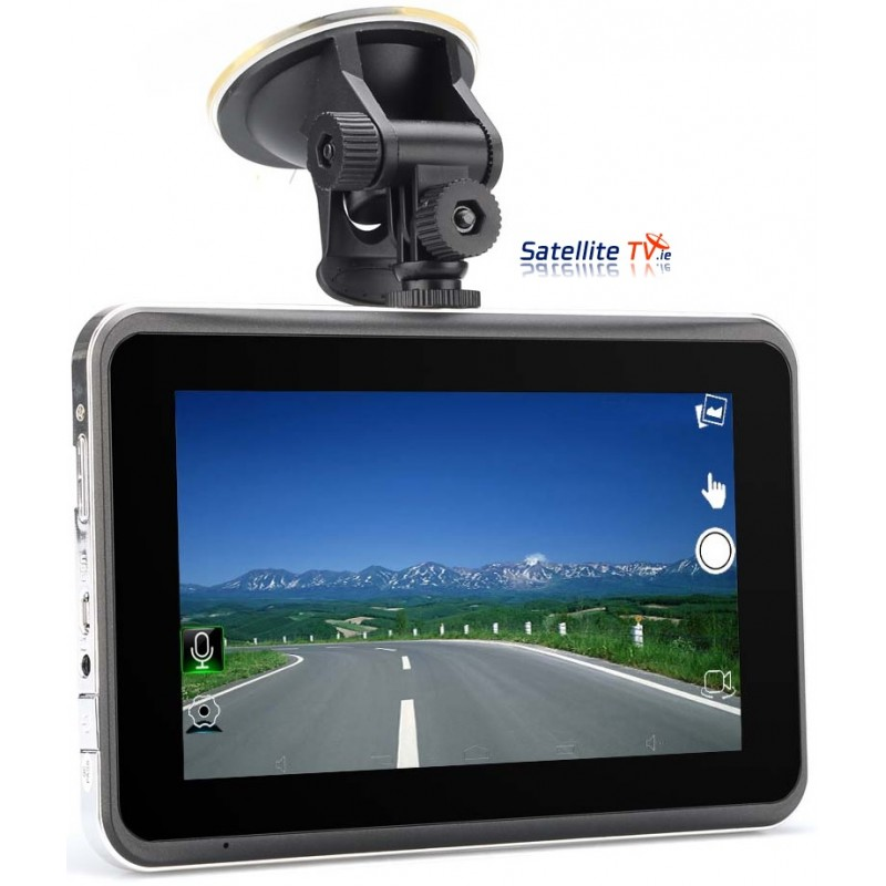 7 Inch Touchscreen GPS Tablet + DVR DashCam
