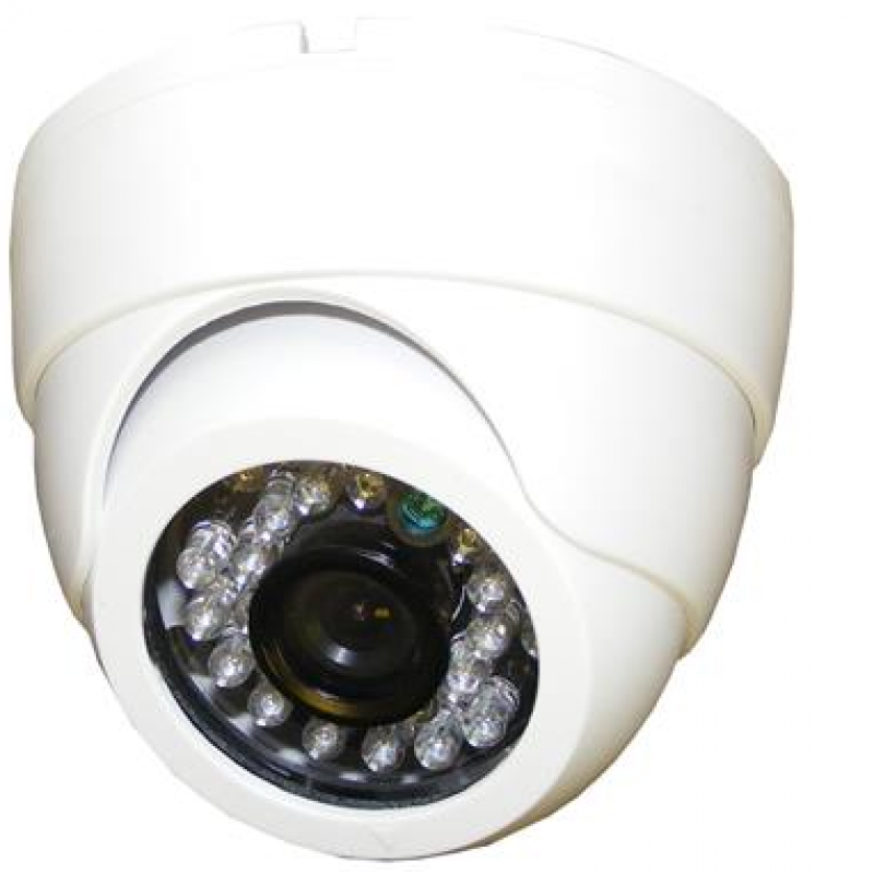 700TVL Effio-E HD CCTV Camera White IR 3.6mm