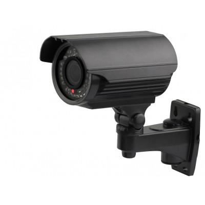700TVL Effio-E Black HD CCTV IR 4-9mm Variable