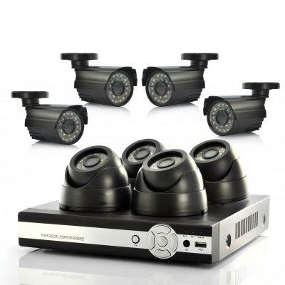 CCTV 8 Camera System ( no hard-drive )