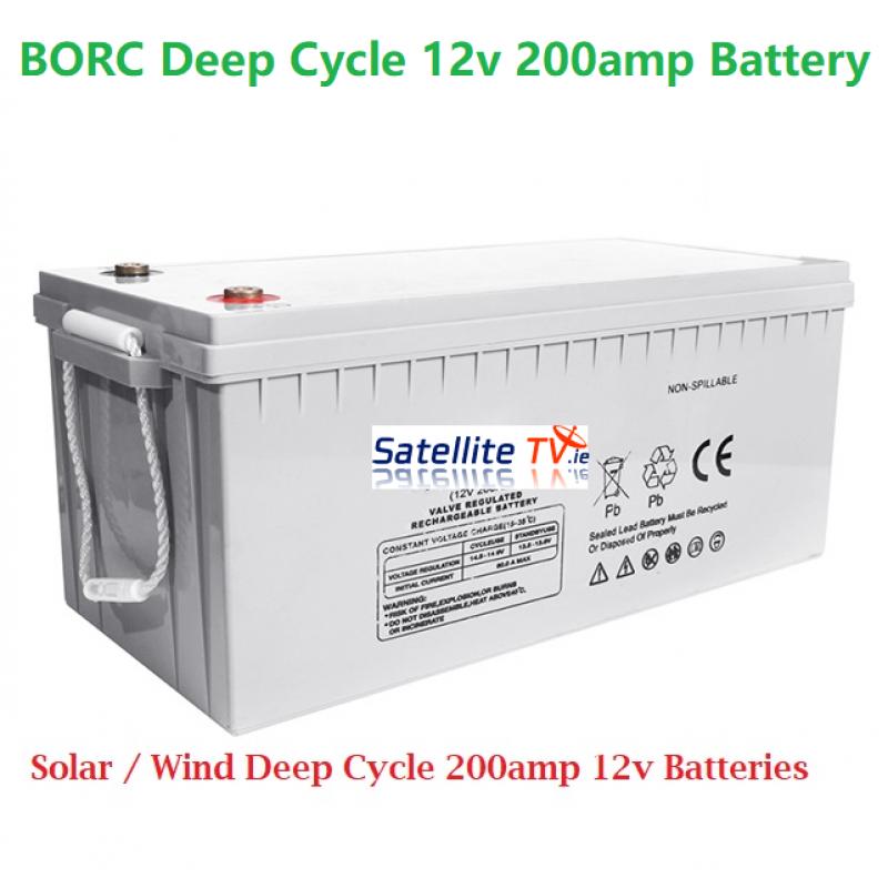 Borc Deep Cycle Battery 200 amp