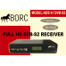 BORC HD DVB-S2 PVR Satellite Receiver - Designed in Ireland