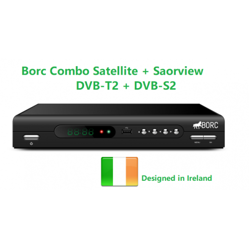BORC Combo Saorview and Satellite HD Receiver