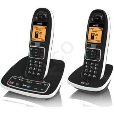 BT 7600 Nuisance Call Blocker Twin with Answering Machine - Brown Boxed