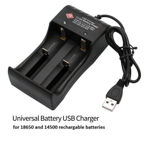 Double Battery Charger 14500 Batteries