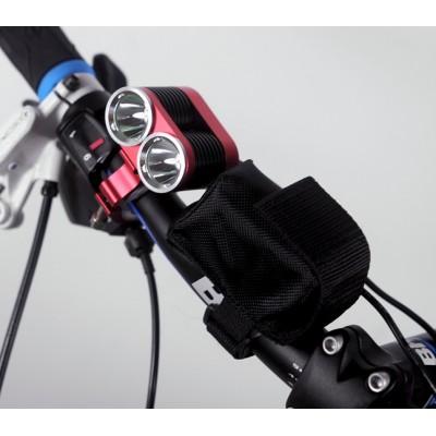 Bicycle Bright LED Light - 2 x CREE XML-T6 LEDs, 2400 Lumens