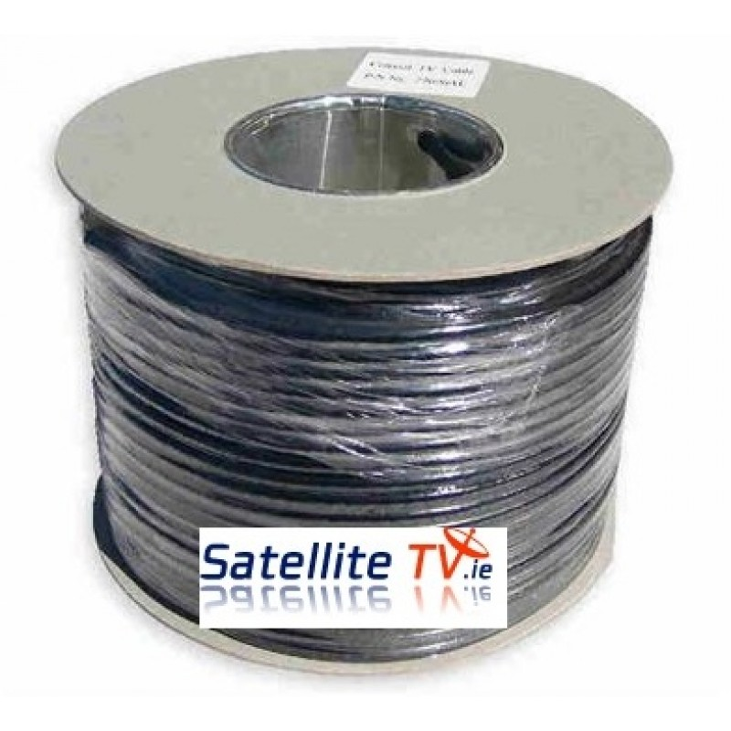 Black RG59 CCTV Cable (100m)