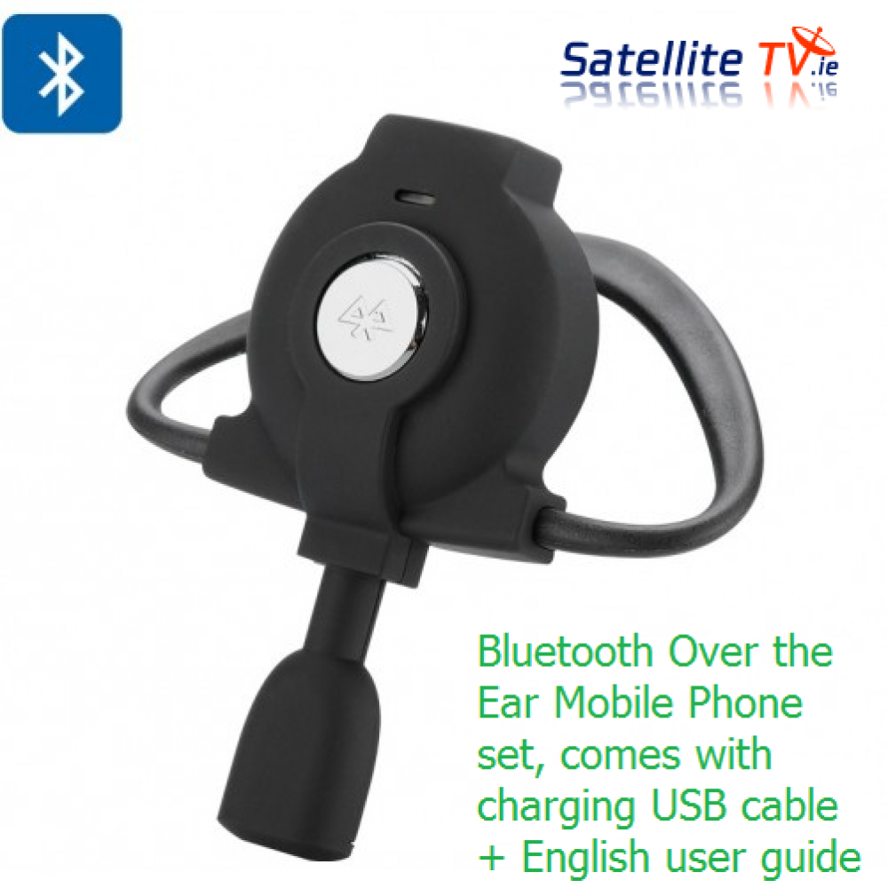 bluetooth handsfree earpiece satellite tv ireland. Black Bedroom Furniture Sets. Home Design Ideas