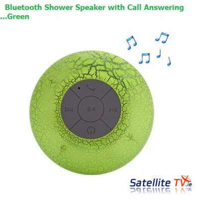 Bluetooth Shower Speaker - Green