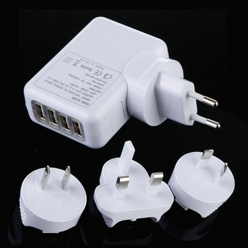 Apple 4 Port USB Travel Charger US / EU / UK / AU