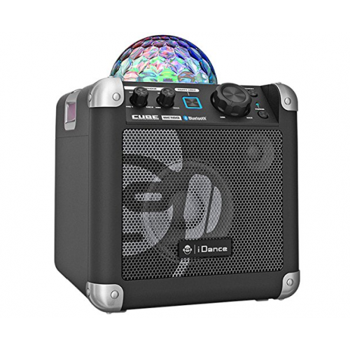iDance BC100 Karaoke System with Built-In Lightshow - Black