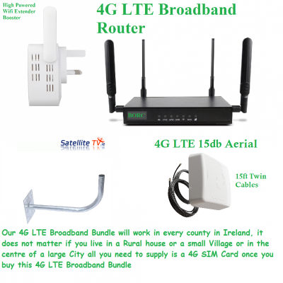 4G Broadband Bundled Kit - BORC - 14m