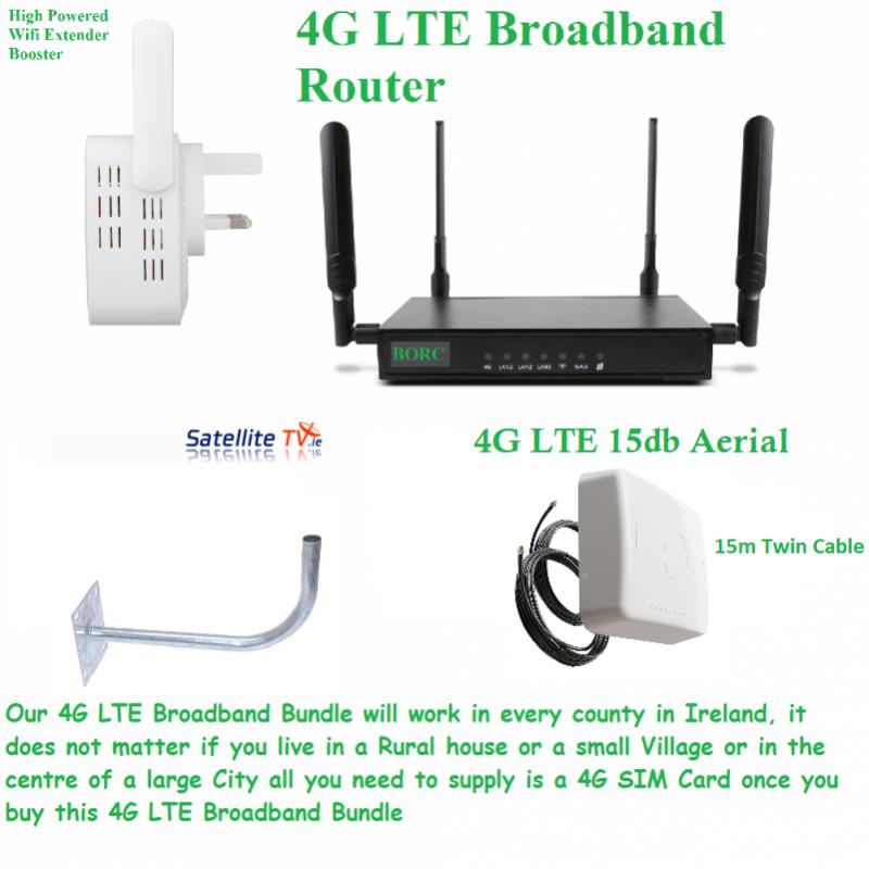 4G Broadband Bundled Kit - BORC - 15m