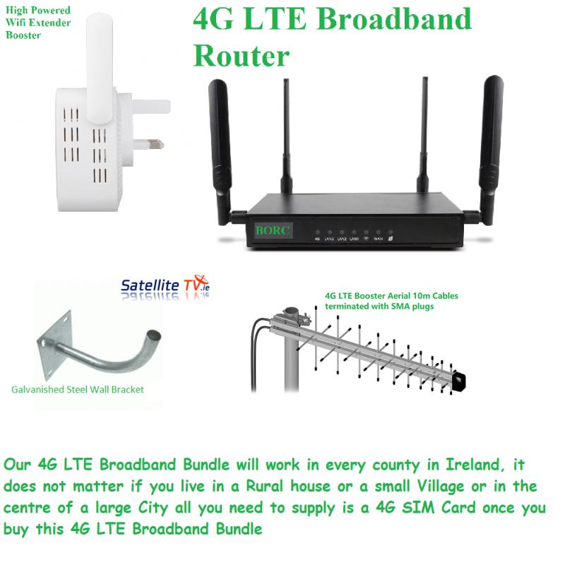 4G Broadband Bundled Kit - BORC