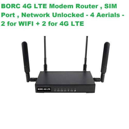 BORC - 4G LTE Broadband Modem Router