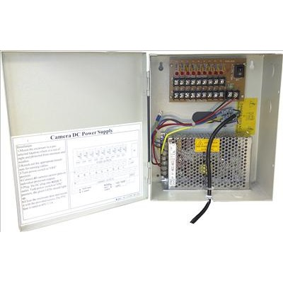 CCTV Power Supply Unit - 8 Cameras