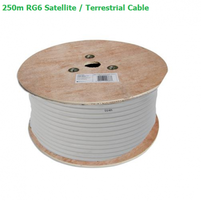 Technomate TM-625 250m RG6 Sat / Terr Cable
