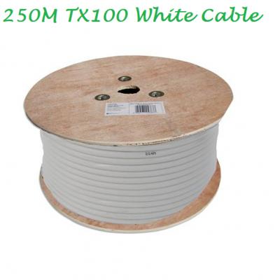 Technomate TX100 250m Cable - White