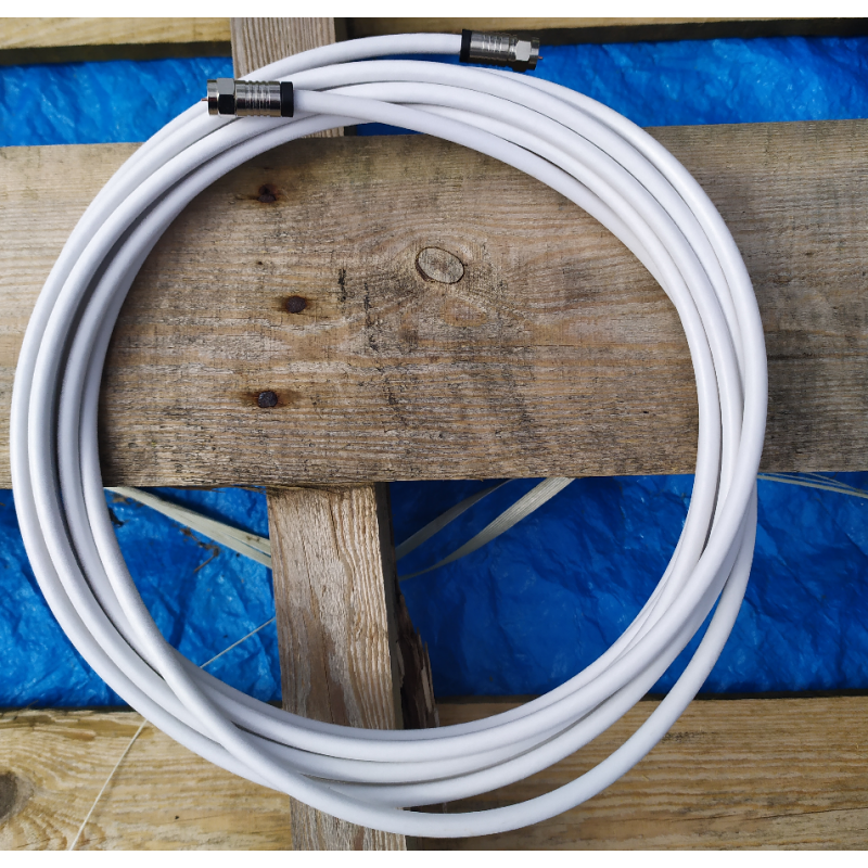 White Sat Cable 5m - Test Lead