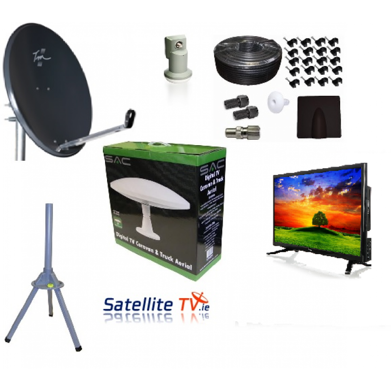 Caravan Hd Led Tv Satellite Tv Saorview System