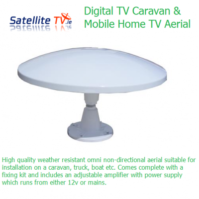 Saorview / Freeview Yacht or Caravan TV Aerial