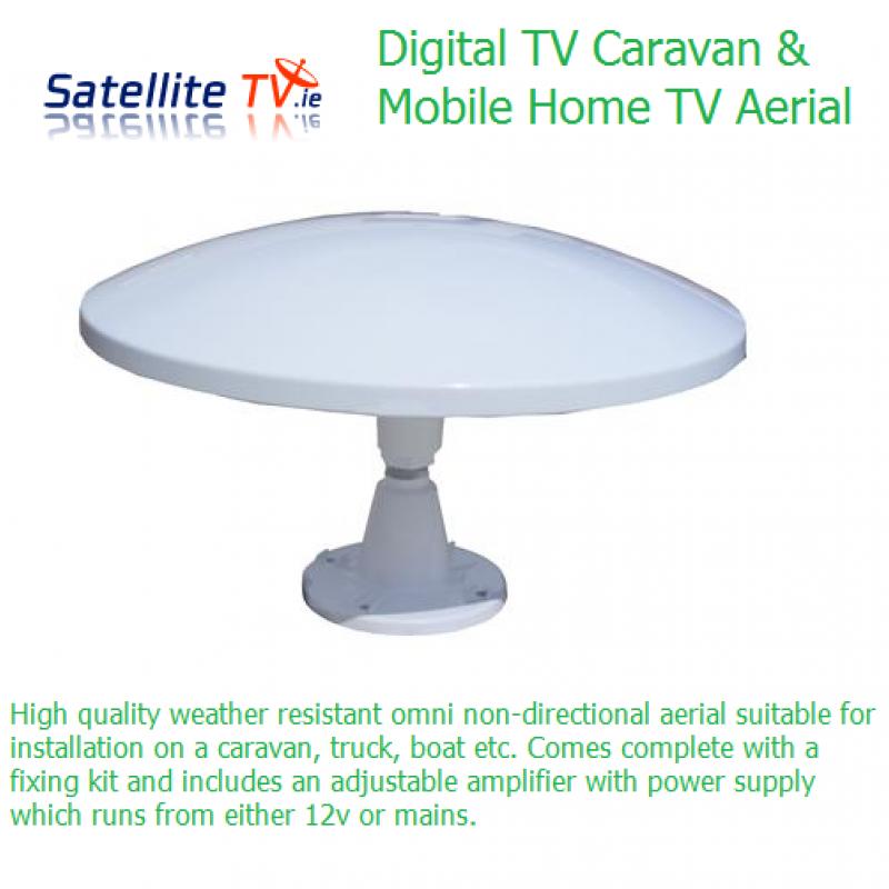 Saorview / Freeview Yacht or Caravan TV Aerial