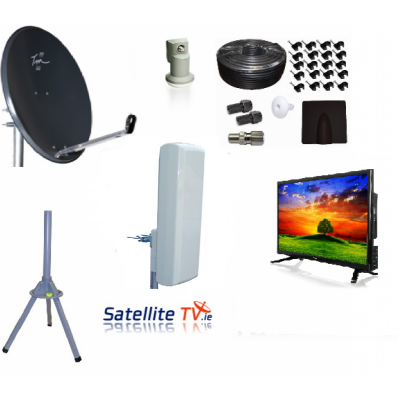 Caravan HD LED TV + Satellite TV + Saorview System
