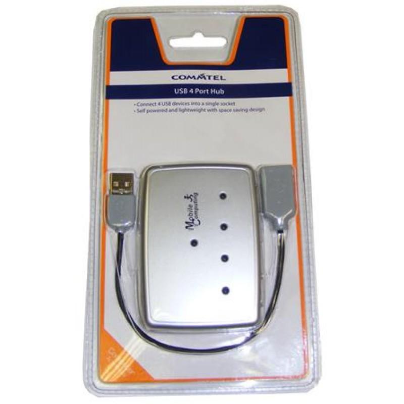 Commtel USB 4 Port Hub