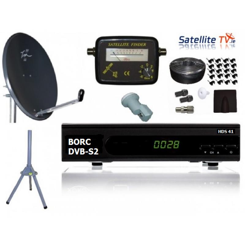 Caravan HD Satellite TV System