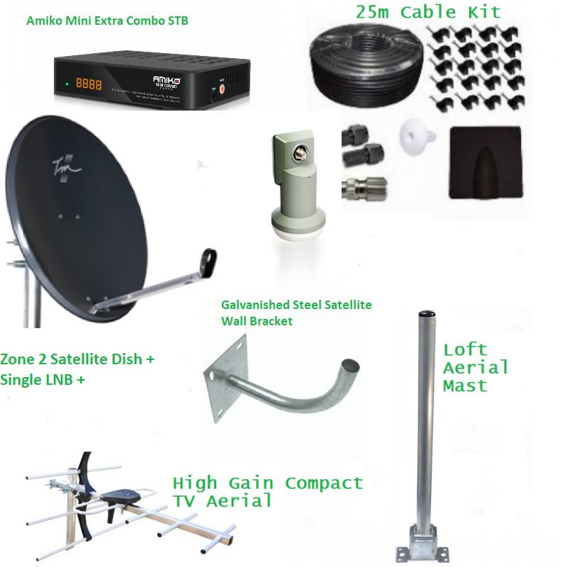 Saorview HD and Free Sat HD DIY Kit