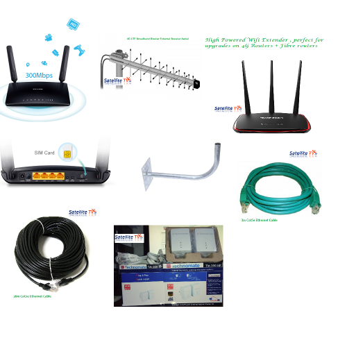 4G Broadband Bundled Kit