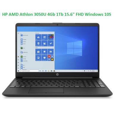 """HP AMD Athlon 3050U 4Gb 1Tb 15.6"""" FHD Windows 10S"""