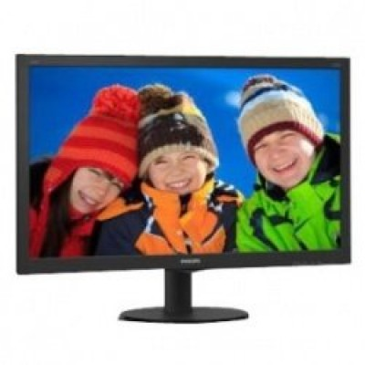 "Philips V-line 240V5QDAB 23.8"" ADS-IPS LED Monitor with Speakers"
