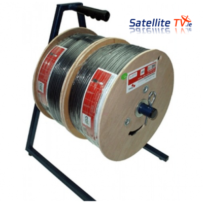 Cable Dispenser Double RG6 TX100 TM625 ( 250m + 100m )