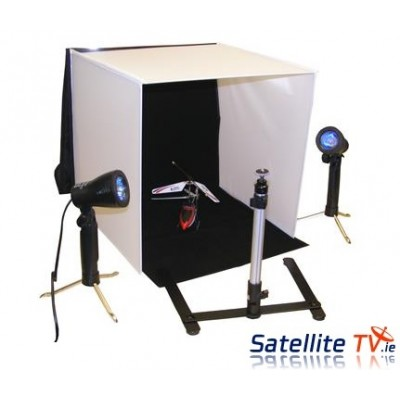 Ebay + Amazon Portable Photo Lighting Studio