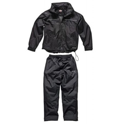 Dickies EXMOOR Breathable Black Weather Suit