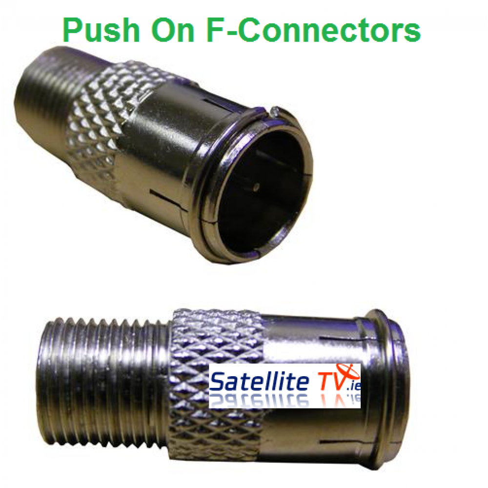 Push On Quick F Connector 094 903 0765 Satellite TV
