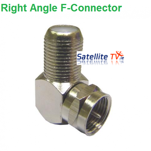 Right Angle F Connector