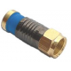 Snap and Seal Gold F-Connectors x 100