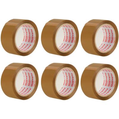 6 Rolls of Brown Packaging Tape
