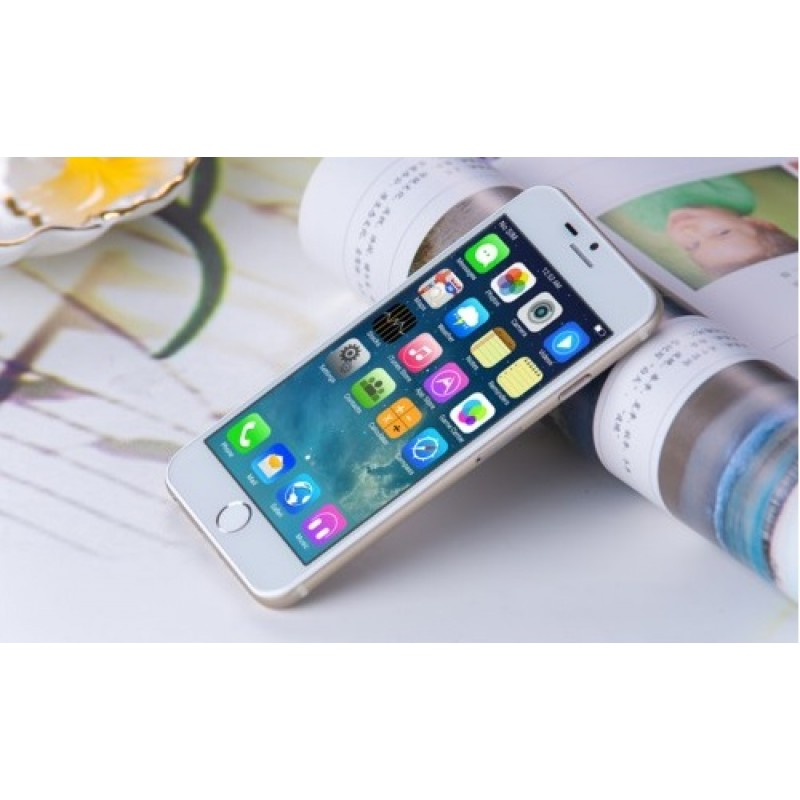 "i6 V4 - Aluminum - MTK6582 - IOS 8 Theme - 1GB + 8GB - 4.7"" IPS HD"