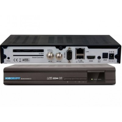 Icecrypt S3500HD Linux