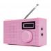 FM Radio - Pink - 10 Presets