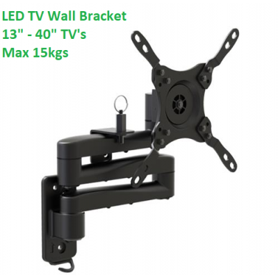"TV Wall Bracket 13"" to 40""  - Large"