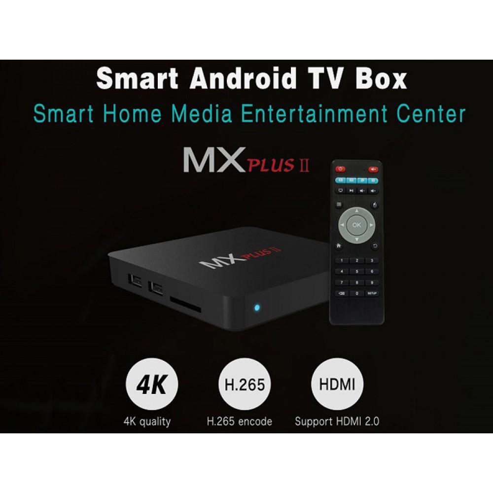 AAA MX PLUS II Android Quad Core TV Box - Kodi- Netfliks