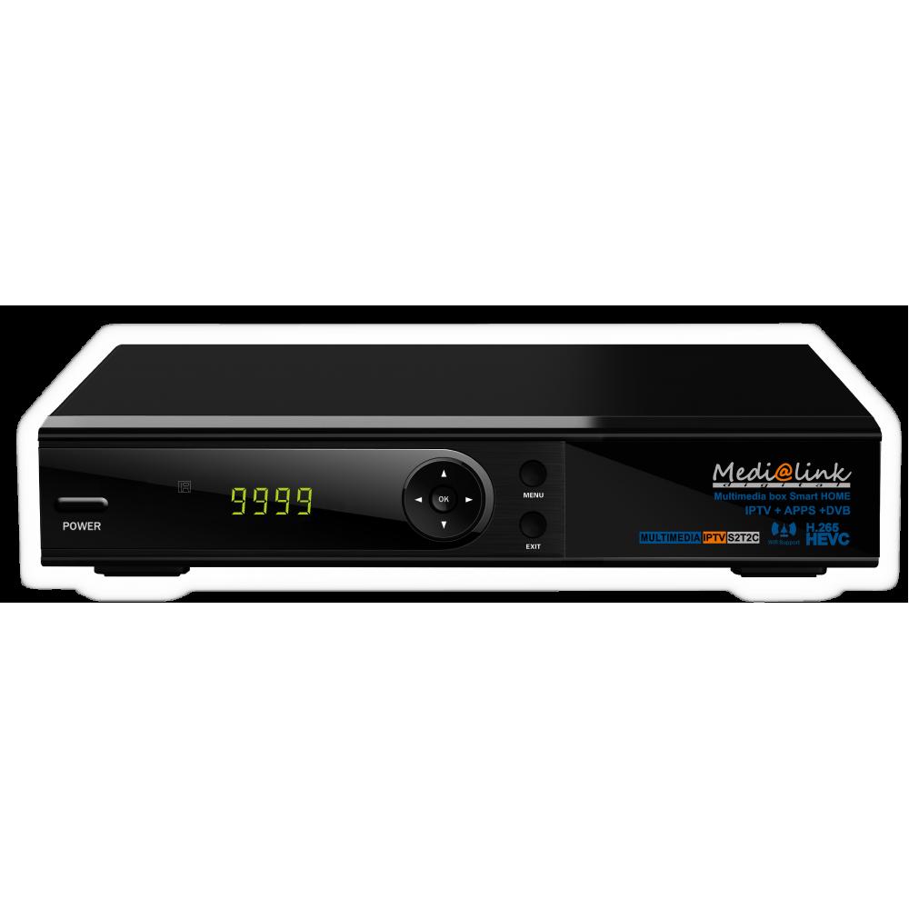 Medialink ML7500 HD Combo Satellite + Terrestrial + IPTV